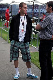 Vettel en Melbourne