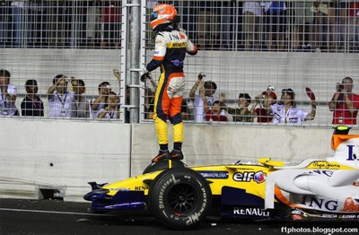 Accidente de Piquet en Singapore