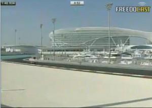 Yas Marina circuit pole