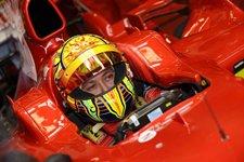 Valentino Rossi en Ferrari