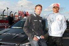 La pareja de Mclaren Button y Hamilton