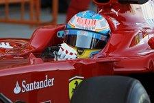 Alonso en el F10