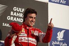 Alonso triunfa en bahrein con ferrari