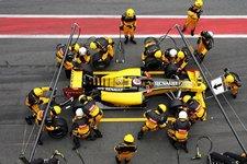 renault pit stop practice