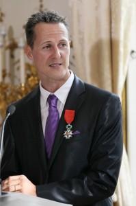 Michael Schumacher French Legion of Honor