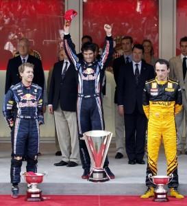 Podium Monaco