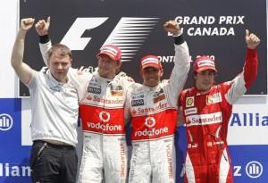 Podium Canadá
