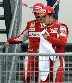 Ferrari multado
