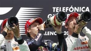 Podium Valencia GP Europa