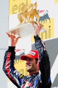 Mark Webber Hungria