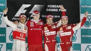 Podium Corea 2010