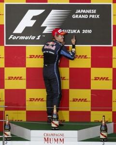Sebastian Vettel en Suzuka