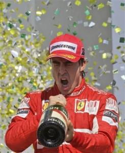 Brazil F1 Fernando Alonso