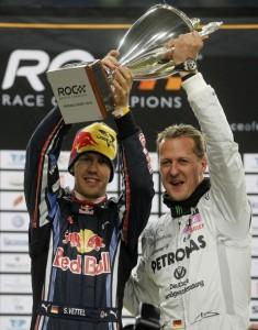 Schumacher y Vettel ROC