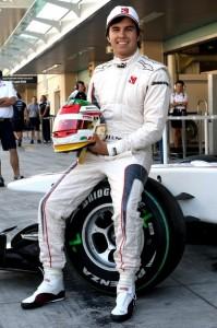 Sergio Perez Sauber