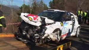 Robert Kubica accidente rally