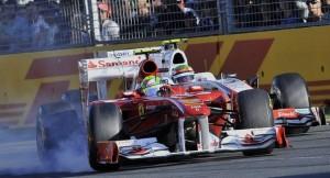 Massa y Perez en Australia