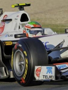 Sauber Sergio Perez