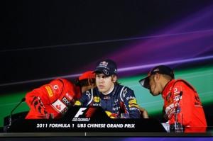 Vettel Pole en China