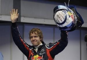 Vettel celebra la pole en malasia