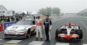 NASCAR F1 Stewart Hamilton Swap Auto Racing