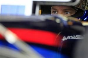 Vettel Hungaroring