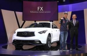 Vettel y Shiro Nakamura
