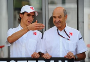 Esteban Gutiérrez y Sauber