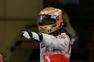Hamilton gana en Abu Dhabi