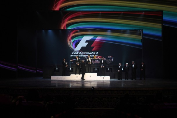 Ceremonia de Gala 2011 FIA