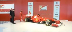 Presentación Ferrari F2012