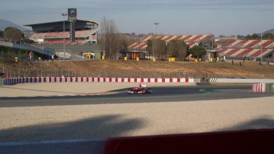 Practicas F1 montmelo