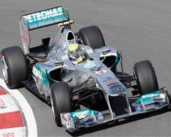 Nico Rosberg en Mercedes
