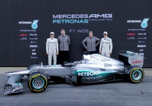 Mercedes Petronas F1 team