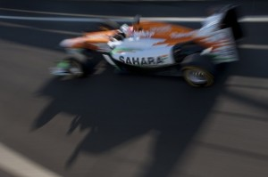 Paul Di Resta conduce Sahara Force India VJM05