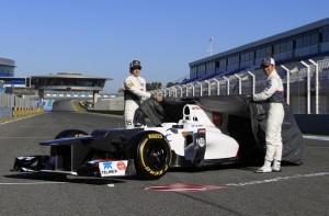 Kobayashi y Perez descubren el Sauber C31-Ferrari