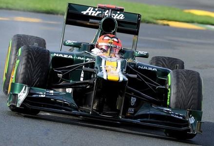 Caterham-Renault driver Heikki Kovalaine