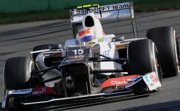 Sauber F1-Ferrari - Sergio Perez
