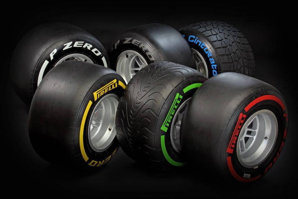 Pirelli Pzero 2012
