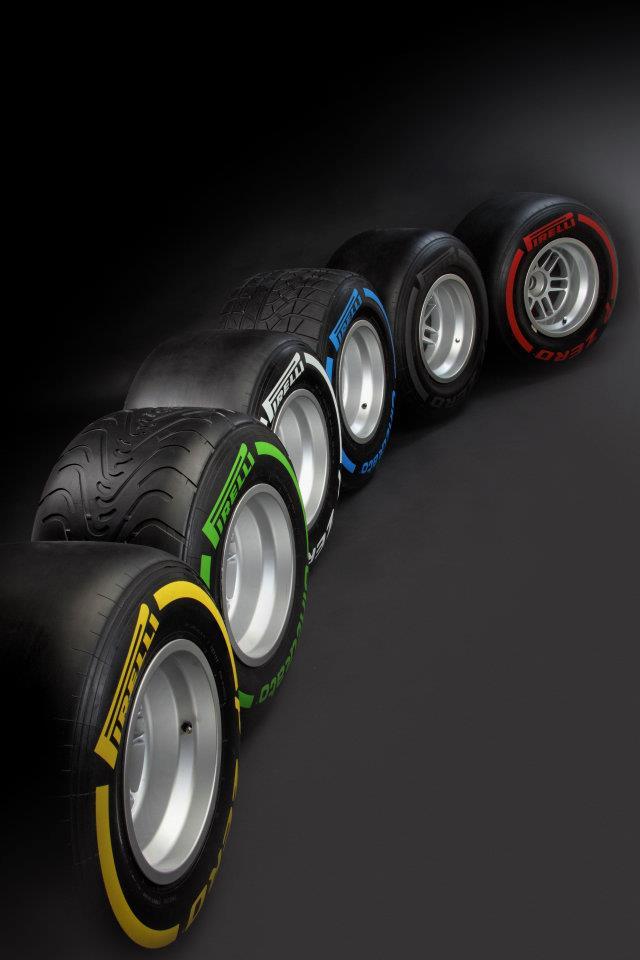 Pirelli Pzero 2012 f1