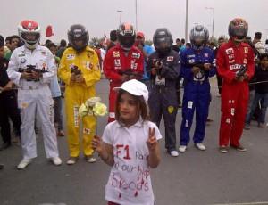 manifestantes en bahrein