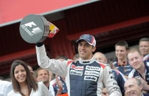 William's Venezuelan driver Pastor Maldonado