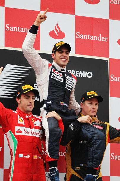 Podio España 2012