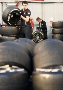 Pirelli's staff working