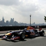 David Coulthard con Red Bull en New York