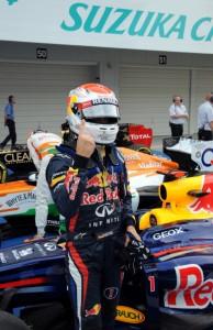 Vettel Pole Suzuka