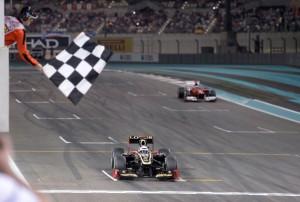 Kimi Raikkonen wins
