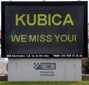 Robert Kubica we miss you