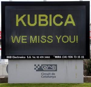 Robert Kubica we miss you