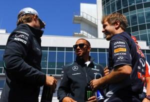 Nico, Lewis, Sebastian